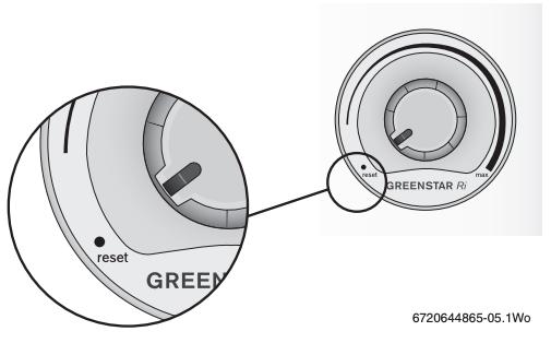 Worcester Greenstar Ri Boiler Reset
