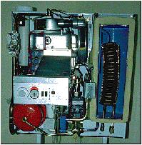 Condensing Boiler Cutaway